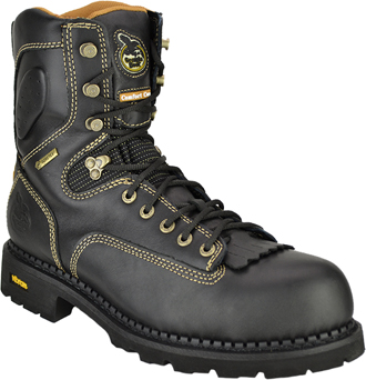 "Men's Georgia Boot 8"" Waterproof Logger Work Boot G028"