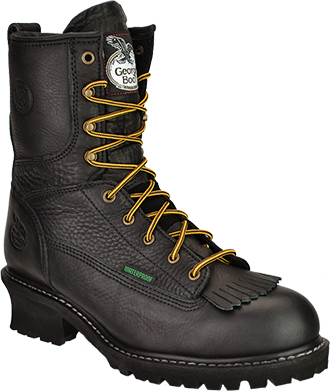 "Men's 8"" Georgia Boot Waterproof Logger Boot G8170"