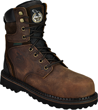 "Men's 8"" Georgia Boot Waterproof Work Boot G9134"