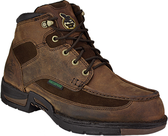 "Men's 6"" Georgia Boot Waterproof Moc-Toe Work Boot G7403"