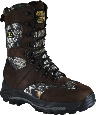 "Men's Golden Retriever 9"" Waterproof & Insulated Work Boots 4763"