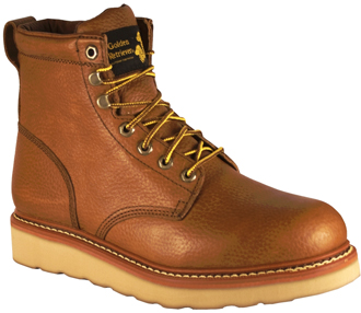 Men's Golden Retriever Work Boots 06059