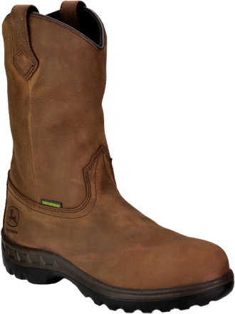 Men's John Deere Waterproof Wellington Work Boot JD4504