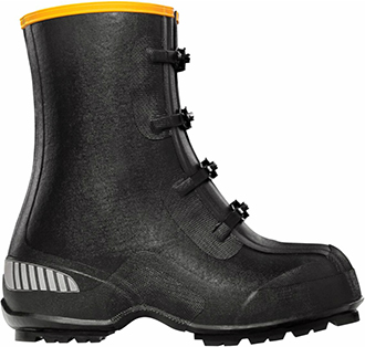 "Men's LaCrosse 12"" Waterproof Rubber Overshoe Work Boots 229110"