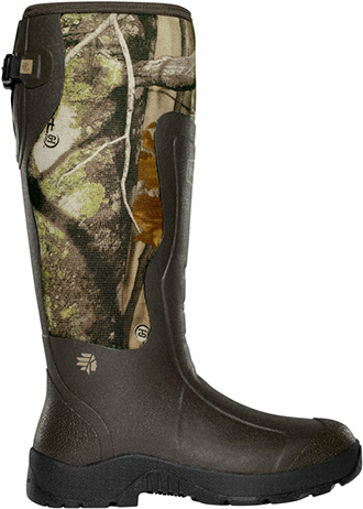 "Men's LaCrosse 18"" Waterproof & Insulated Rubber Hunting Boots 150069"