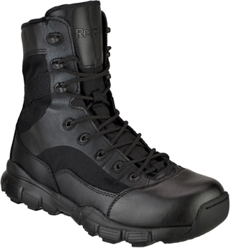 "Men's Reebok Dauntless 8"" Tactical Side Zipper Boots RB8827"