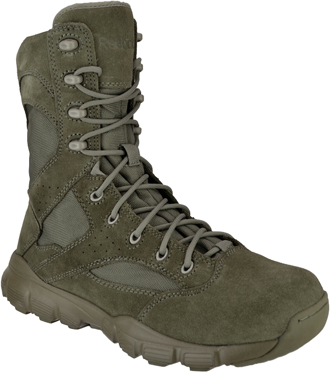 "Men's Reebok Dauntless 8"" Tactical Side Zipper Boot RB8830"