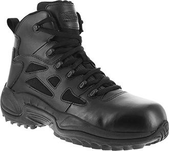 "Men's 6"" Reebok Side Zipper Uniform & Tactical Boot RB8678(Replaces Converse C8678)"