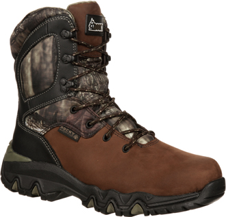 "Men's Rocky 8"" Bigfoot WP/Insulated Hunting Boot RKYS102"