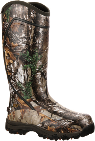 "Men's Rocky 16"" Core Rubber Insulated Hunting Boots RKYS060"