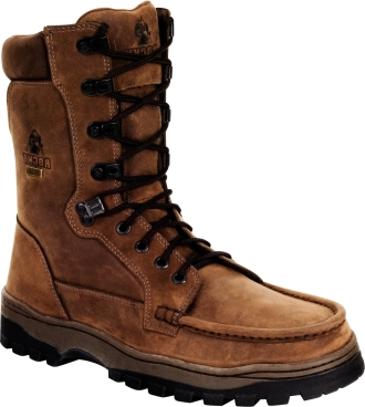 "Men's 9"" Rocky Outback Waterproof  Field Boot 8729"