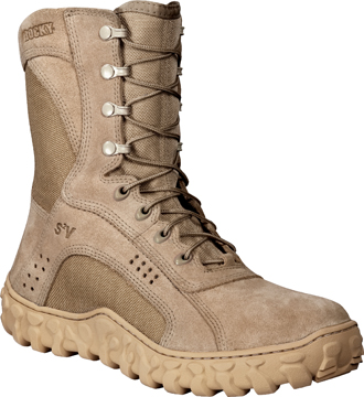 "Men's Rocky 8"" Military Boot 0000105  -  USA Made"