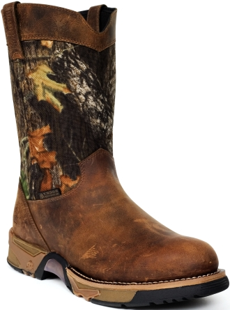 "Men's 9"" Rocky Aztec Waterproof Camo Wellington Boot 2871"