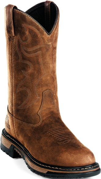 Men's Rocky Western Waterproof Work Boot 0002733