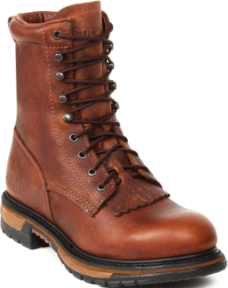"Men's 8"" Rocky Ride Lacer Work Boot 0002722"