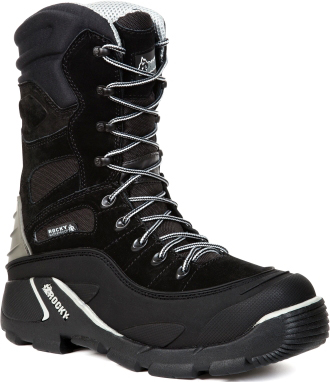 "Men's 9"" Rocky Blizzard Stalker Pro Waterproof & Insulated Work Boot 5455"