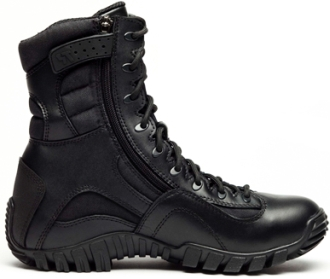 "Men's Tactical Research 8"" Military Side-Zipper Boots TR960Z"