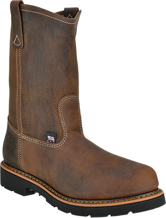"Men's Thorogood 10"" Steel Toe Wellington Work Boot (U.S.A.) 804-3310"