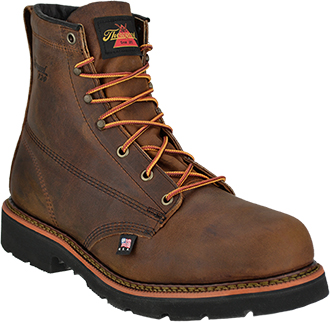 "Men's Thorogood 6"" Steel Toe Work Boot (U.S.A.) 804-3366"