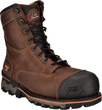 "Men's Timberland Pro 8"" Boondock WP & Insulated Work Boots 89635"