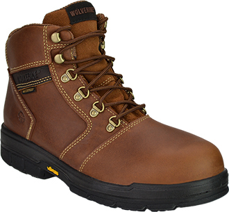 "Men's Wolverine 6"" Barkley Waterproof & Insulated Work Boots W04104"