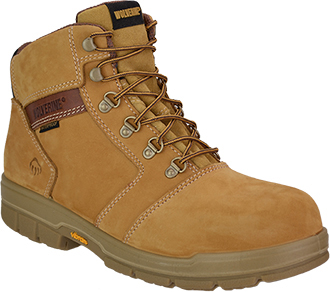 "Men's Wolverine 6"" Barkley Waterproof & Insulated Work Boots W04105"