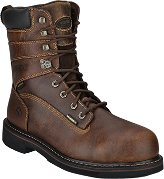 "Men's Wolverine 8"" Brek Waterproof Work Boot W10083"