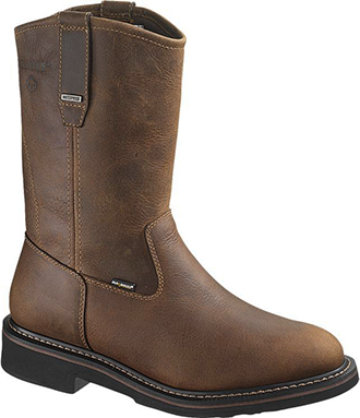 "Men's Wolverine 10"" Brek Waterproof Wellington Work Boots W10085"