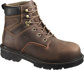 "Men's Wolverine 6"" Nolan Waterproof Work Boots W10104"