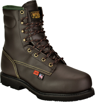 "Men's Work One/Thorogood 8"" Steel Toe Metguard Boot (U.S.A.) 38253  