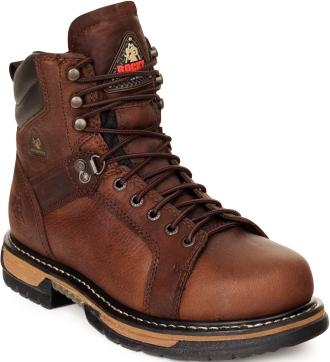 "Men's 6"" Rocky Work Boots 0005703"