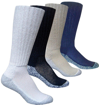 Three Pair Ultimate Technology Active Socks.