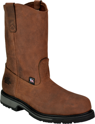 "Men's Thorogood 10"" Steel Toe Wellington Boot (U.S.A.) TH804-4823"