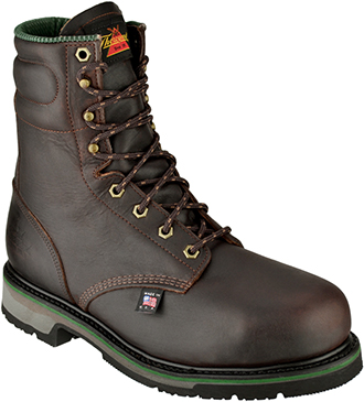 "Men's Thorogood 8"" Steel Toe Work Boot (U.S.A.) 804-4721"