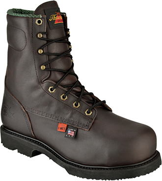 "Men's Thorogood 8"" Steel Toe Metguard Boot (U.S.A.) 804-4831"