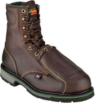"Men's Thorogood 8"" Steel Toe Metguard Boot (U.S.A.) 804-4911"