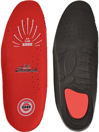 "Thorogood Dual Density Polyurethane ""SHOCK ZONE"" Cushioned Insert/Insole"