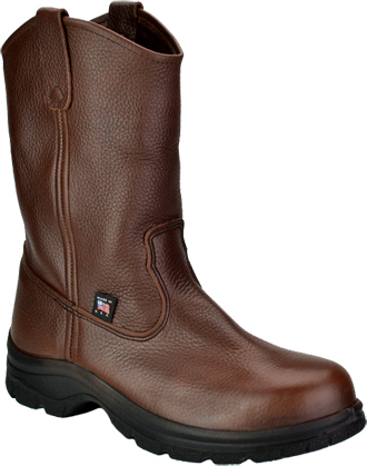 "Men's Thorogood 10"" Steel Toe Wellington Work Boot (U.S.A.) TH804-4580"