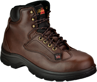 "Men's Thorogood 6"" Steel Toe Work Boot (U.S.A.) TH804-4860"