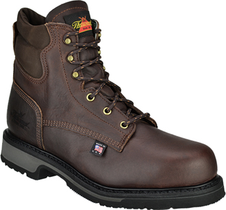 "Men's Thorogood 6"" Steel Toe Work Boot (U.S.A.) TH804-4203"