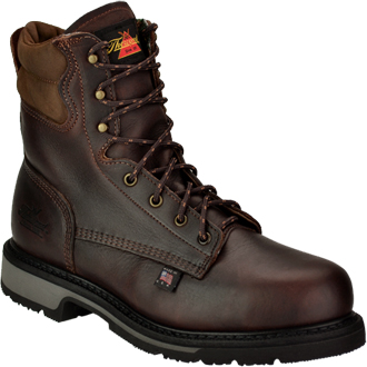 "Men's Thorogood 8"" Steel Toe Work Boot (U.S.A.) TH804-4204"