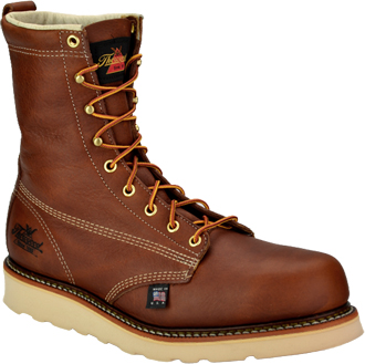 Thorogood Men's Work Boot 814-4364  | USA Made Moc Toe Wedge Sole Thorogood Boot 814-4364