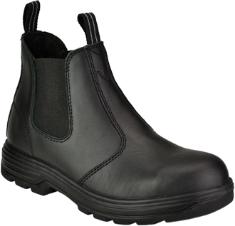 Slip-On Steel Toe Work Boots