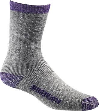 Women's Wolverine 2-Pair-Pack Merino Wool Sock W97927270-500  |  USA Made