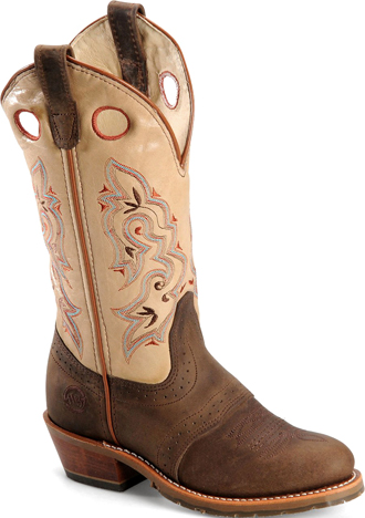 "Women's Double H 12"" Western Boot DH5255  (USA Made)"