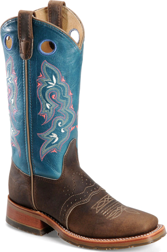 Women's Double H Square Toe Western Boot DH5257 - USA Made