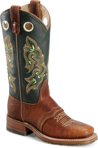 "Women's Double H 12"" Square Toe Western Boot DH5258  (USA Made)"