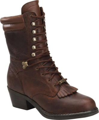 "Women's 8"" Double H Opanka Packer Western Boots 1088"