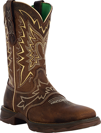 "Women's Durango 10"" Western Lady Rebel Work Boots RD4424"