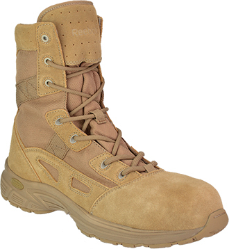 "Women's Reebok 8"" Metal Free Military Boot RB828"